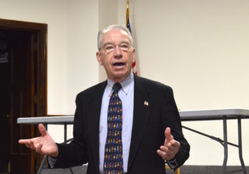 Grassley Adviser Polls Senate Race, Finds Good News For Grassley