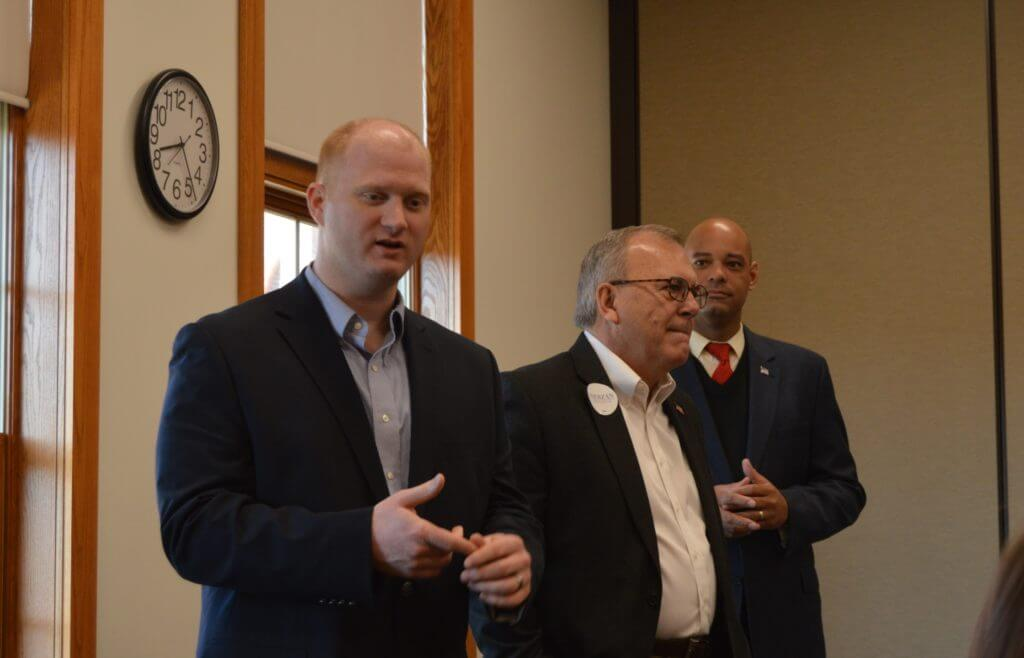Mowrer and his fellow 3rd District candidates