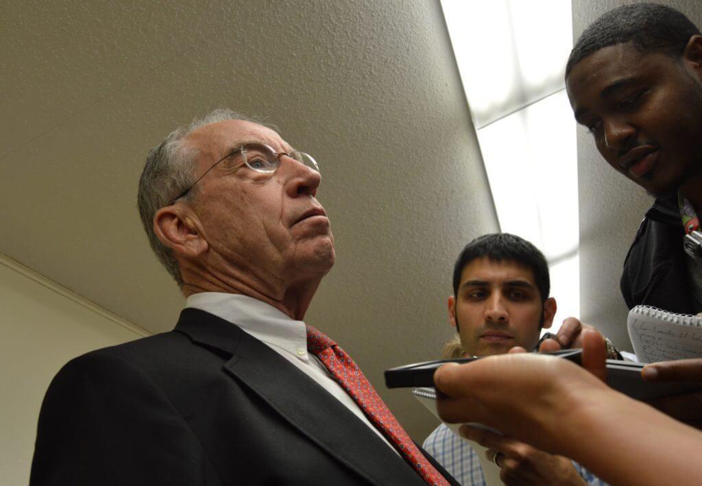 Grassley has often defended Trump's potential SCOTUS choice