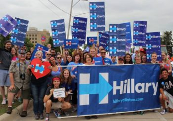 Clinton And Democrats Build An Army In Iowa For November