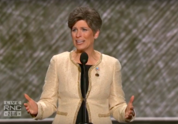 Joni Ernst Gets Shafted At RNC, Probably For The Best