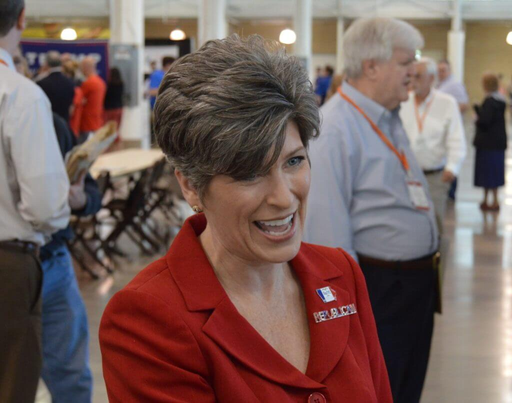 Joni Ernst, a final contender for Trump's VP spot