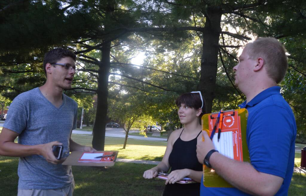 NextGen organizers plan out their Pokemon canvassing