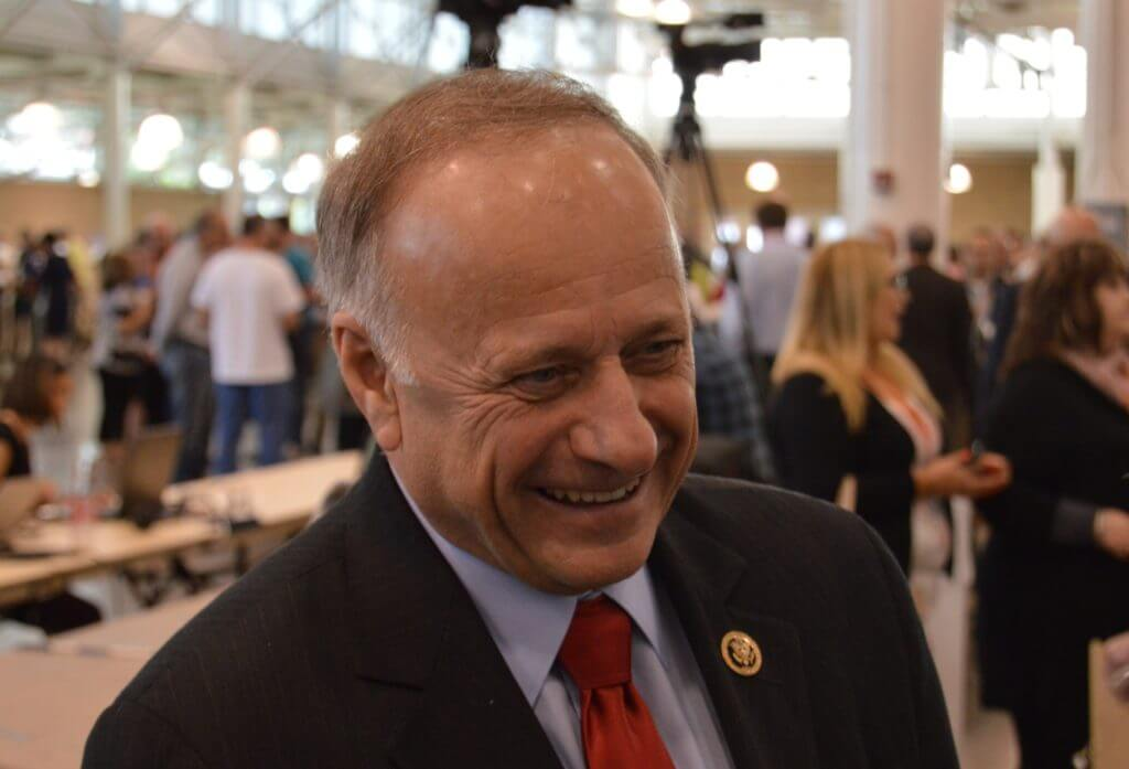 Steve King, an early Trump critic, has recently moderated his stance on him