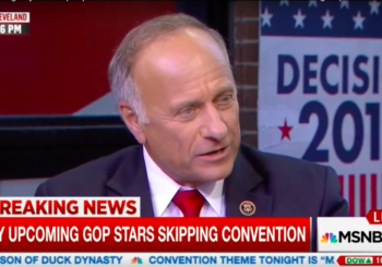 Steve King Goes Full Racist – Says Whites Contribute Most To Civilization