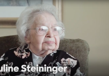 Clinton's 103-Year-Old Iowa Supporter, Ruline Steininger, In New Video