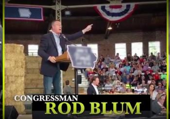 Hilarious: Joni Ernst's Name Blurred Out In Anti-Rod Blum/Trump Ad