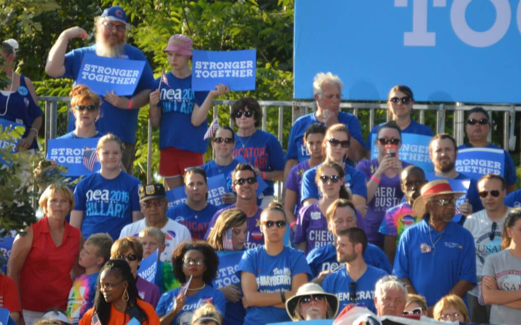 A group of educators for Clinton