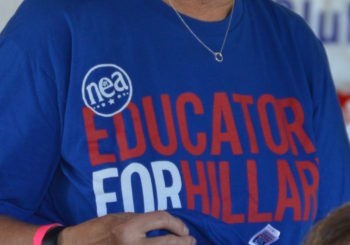 Educators See A Listener, Advocate In Hillary Clinton