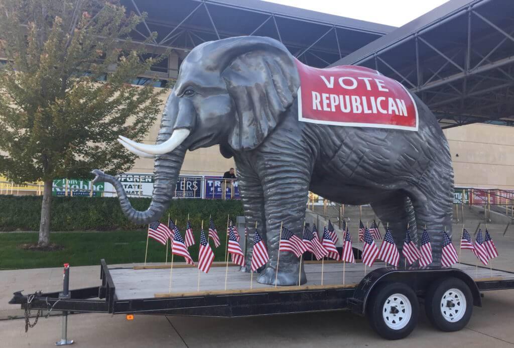 The famous Scott County GOP elephant