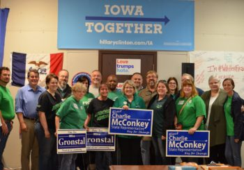 AFSCME Looks To Put Clinton Over The Top In Iowa In Final Push