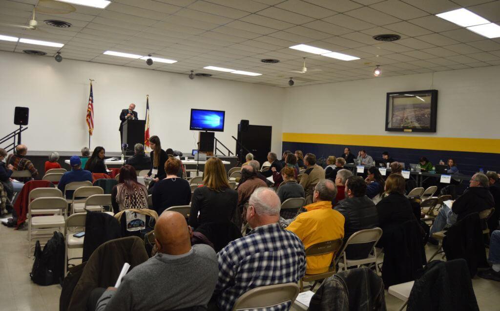 SCC members listen to Loebsack