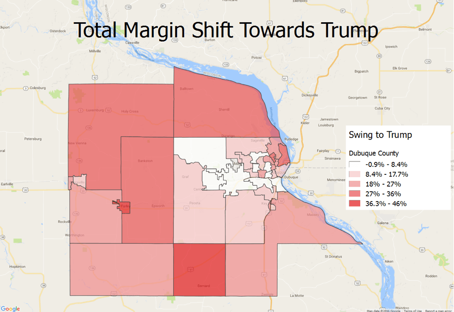 How Dubuque County Went Republican For The 1st Time Since Eisenhower on