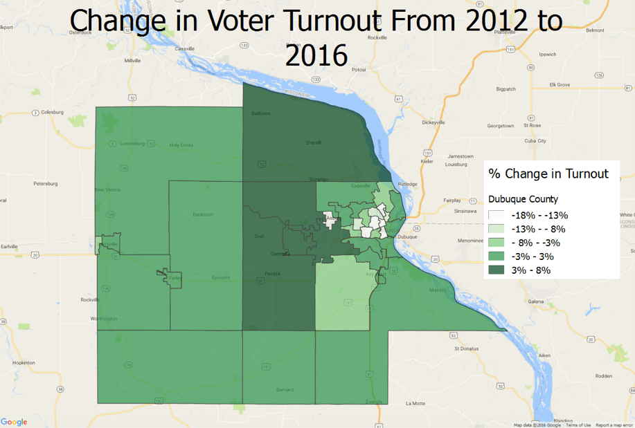 How Dubuque County Went Republican For The 1st Time Since ...