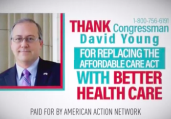 Oops: Group Runs Ad Thanking David Young For Vote That Didn't Happen